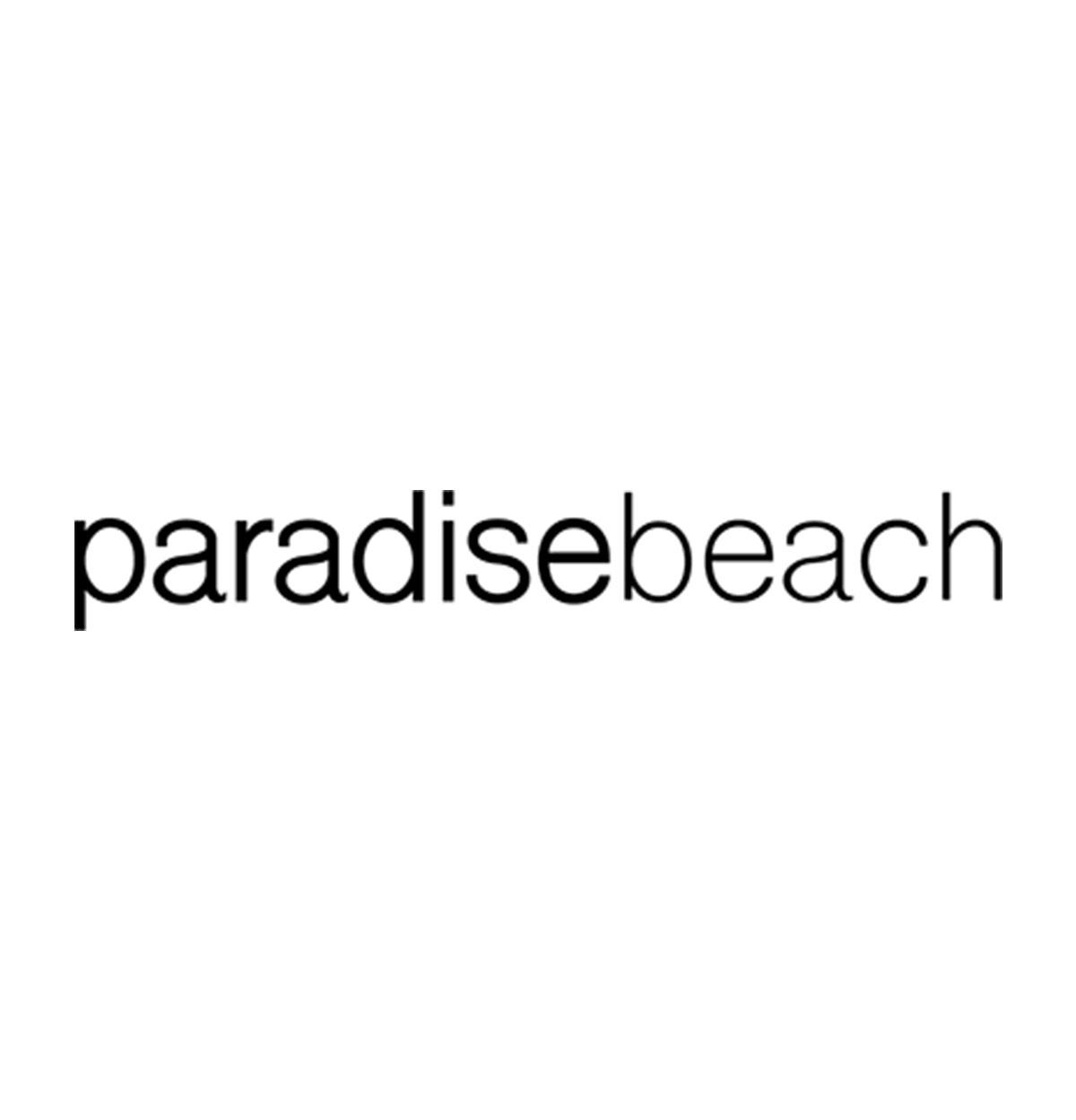 logo paradise beach